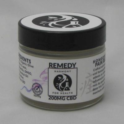 Harmony for Health Remedy Salve 200mg CBD 2oz Jar